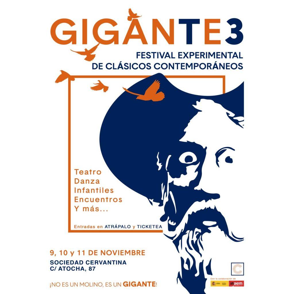 Gigante 3 Festival experimental de clásicos contemporáneos